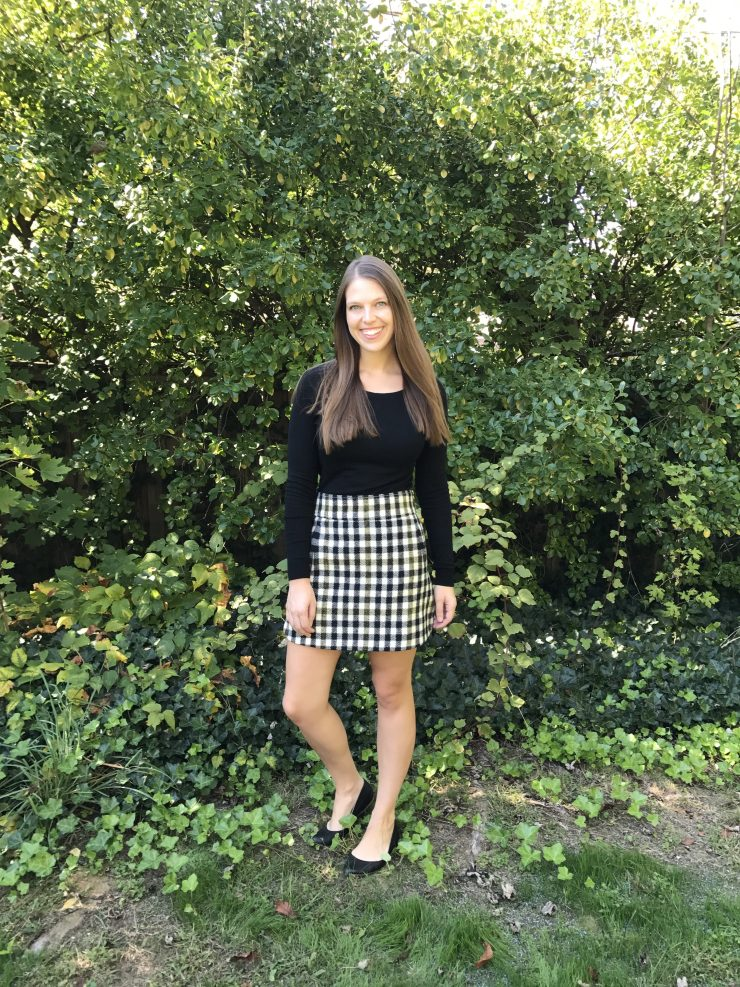 The Perfect Plaid Skirt for Fall