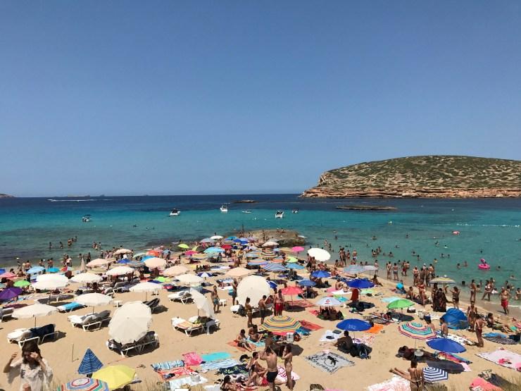 Cala Comte Beach Ibiza