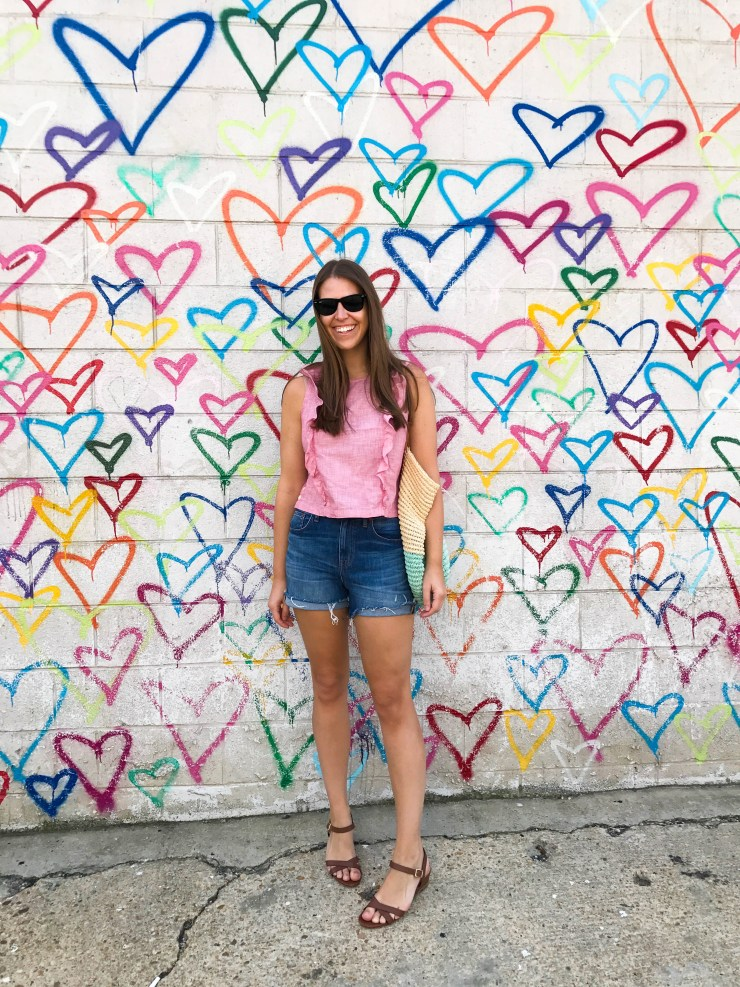 Union Market DC heart wall