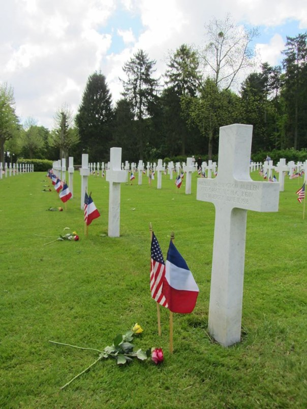photo courtesy of Aisnes-Marne American Cemetery Facebook page