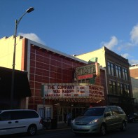 an old movie theater - cornerstone of the Traverse City Film Festival