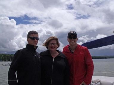 W, B, and Alex