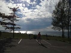 clouds - a photo of a photo