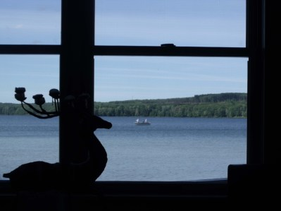I'll miss these views - especially the fisherman