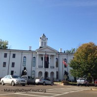 Lafayette County Courthouse - pronounced La - FAY - et, not French La-fy-ette