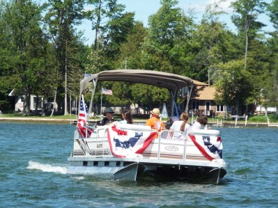 another boat - patriotic theme