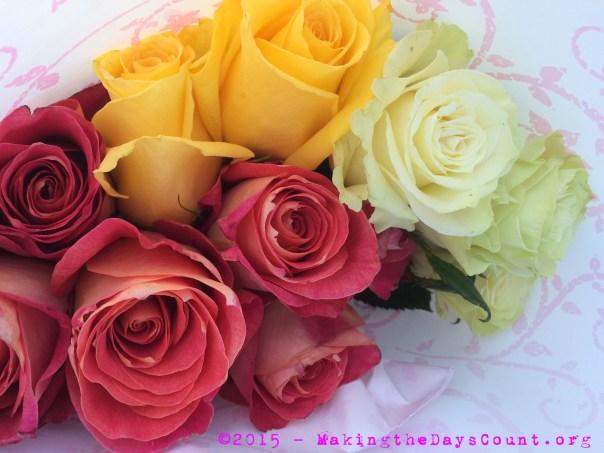 B's roses....