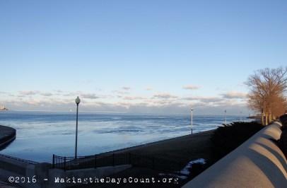 Lake Michigan - looking toward Michigan