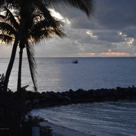 7:01 - a lobster boat returning