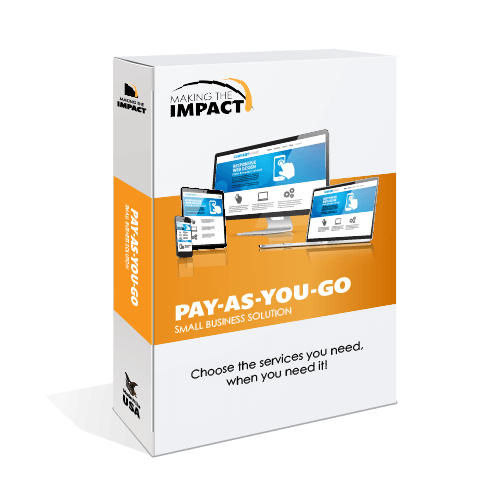 pay-as-you-go small business package