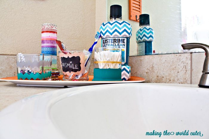 bathroom tray for tweens and teens
