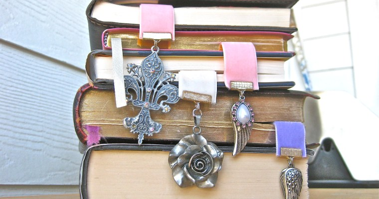 Super Cute Bookmarks (Book Jewelry)!