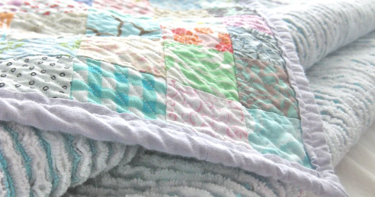 Queen Size Faux Chenille Quilt – Tutorial!