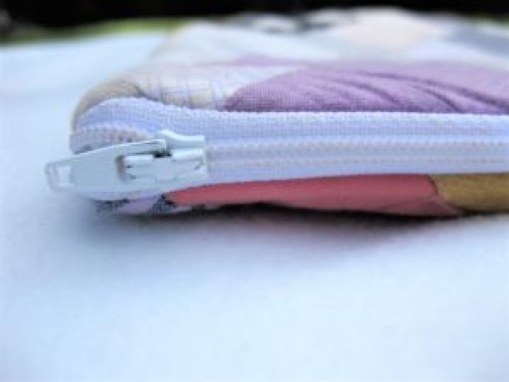 DIY iPad Case zipper