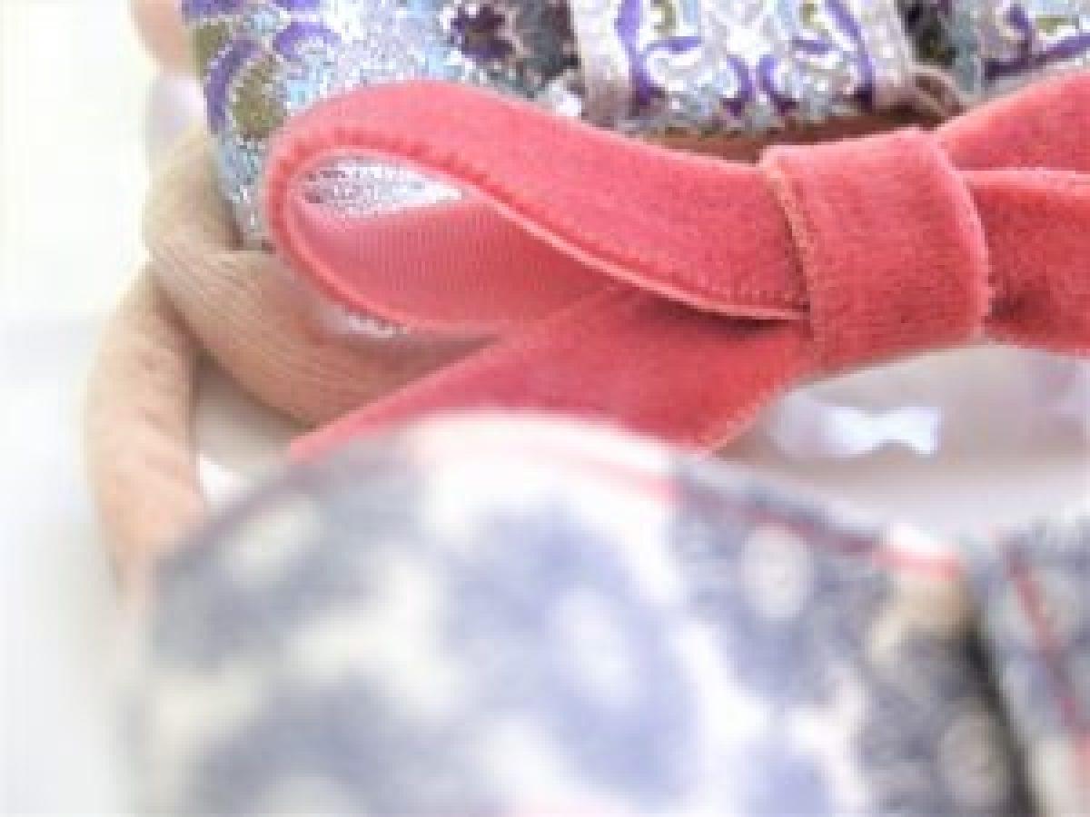 DIY baby nylon headband