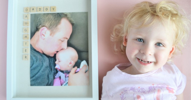 Father's Day Photo Frame Gift Idea: The Daddy Daughter Frame