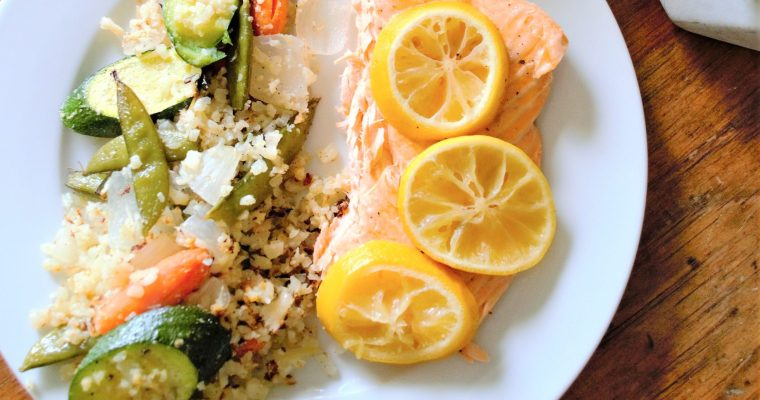 Weight Loss Lemon Salmon Recipe!