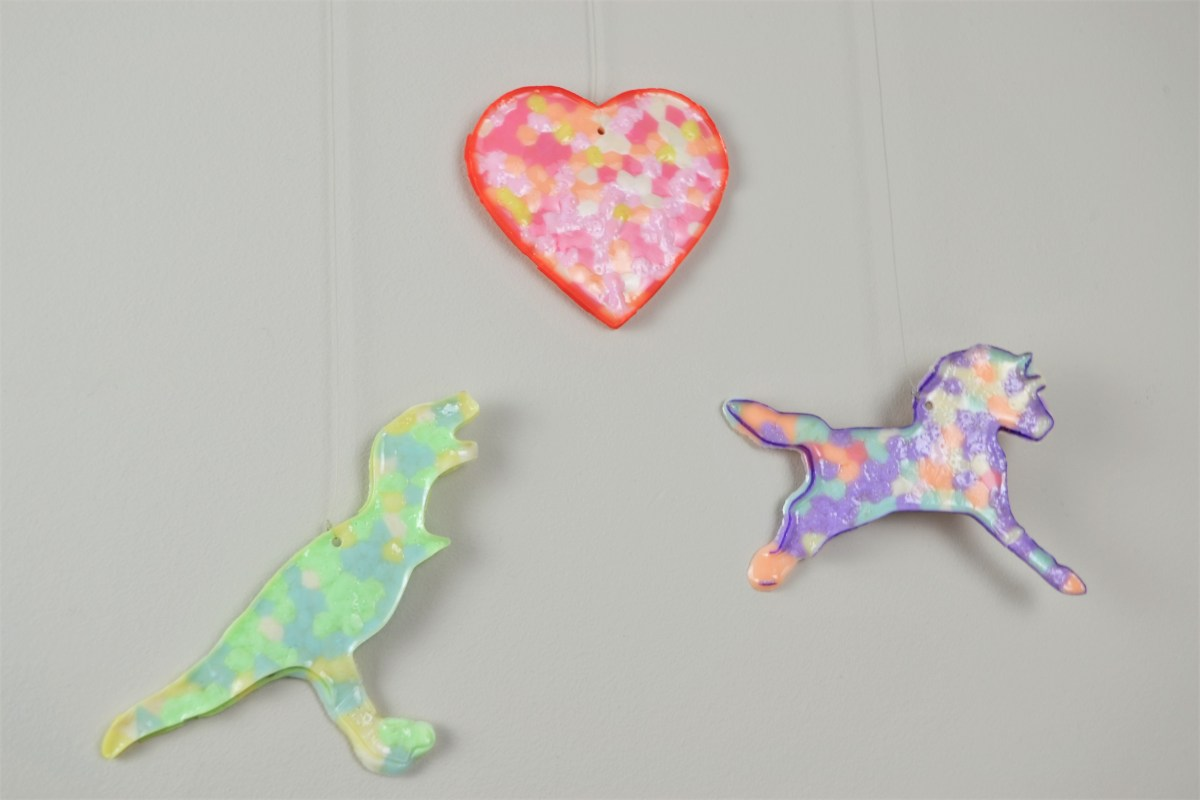 Kids Craft Idea: Cookie Cutter Melty Beads - melty beads decoration