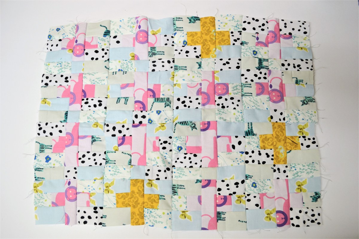 Mini Plus Sign Quilt Top Tutorial - compleated