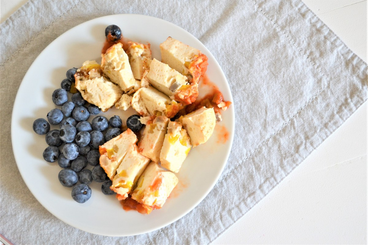Veggie Egg Whites Cooked In a Muffin Tin - A Weight Loss Breakfast Recipe!