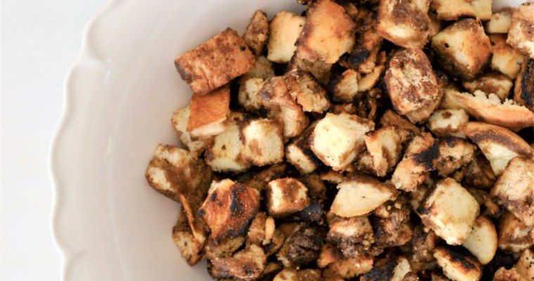 Best Homemade Croutons in the Whole World Recipe!