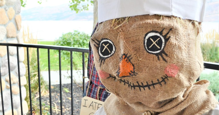 Scarecrow Inspiration on Our Scarecrow Festival Adventure! – Peachland B.C.
