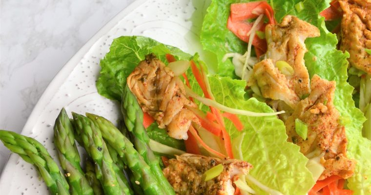 Weight Loss: Fish Taco Lettuce Wrap Recipe with Chili Lemon Marinade