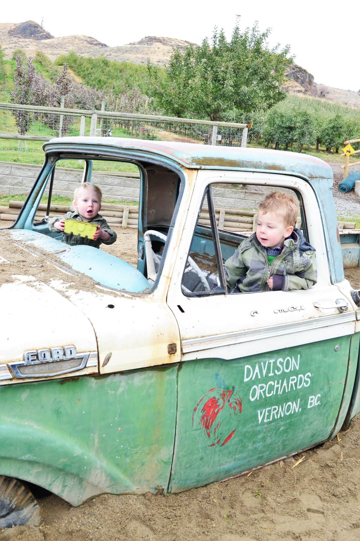 Davidson Orchard Adventure - ford truck