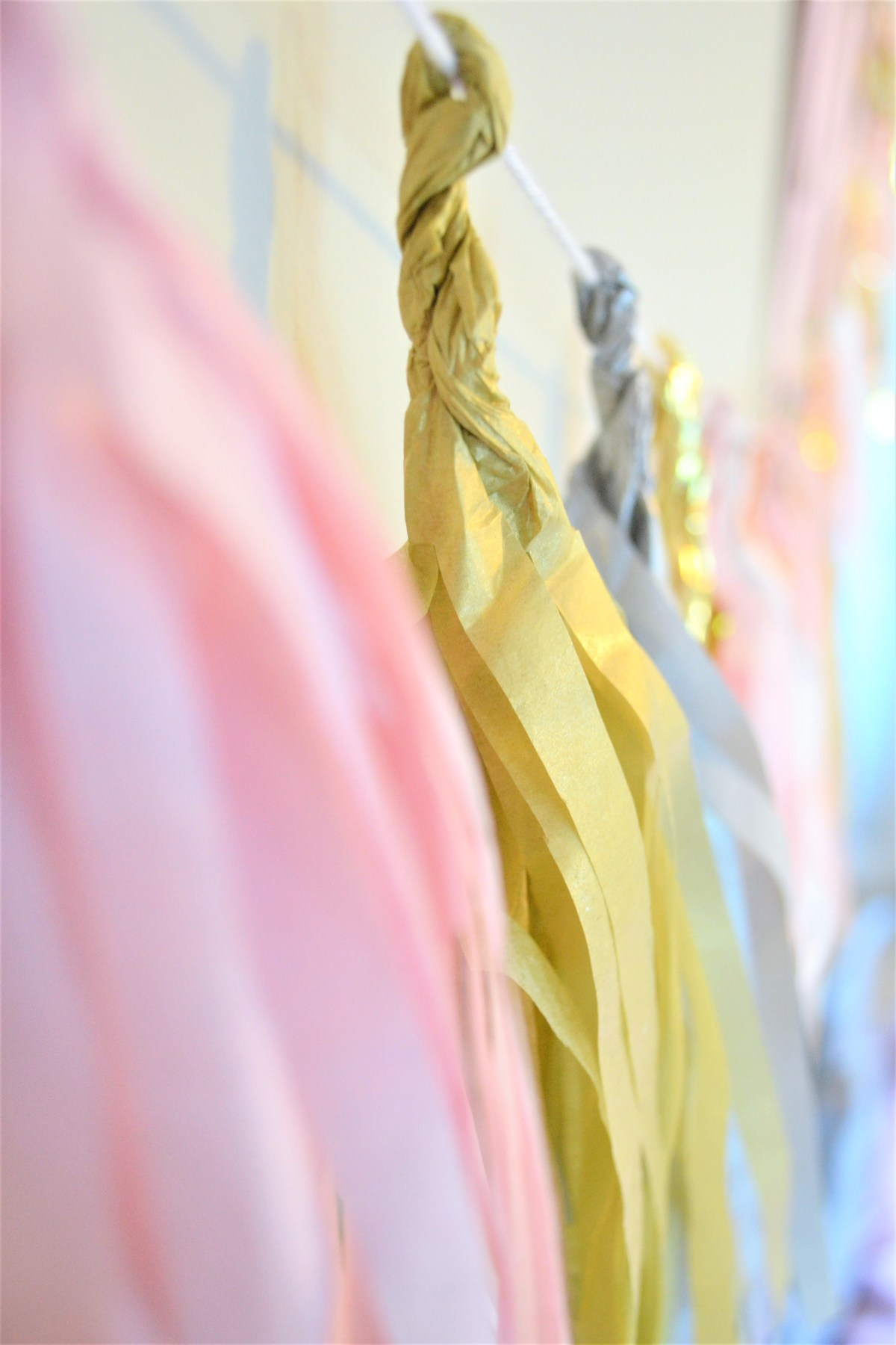 Tassel Garland Inspiration! - just twist
