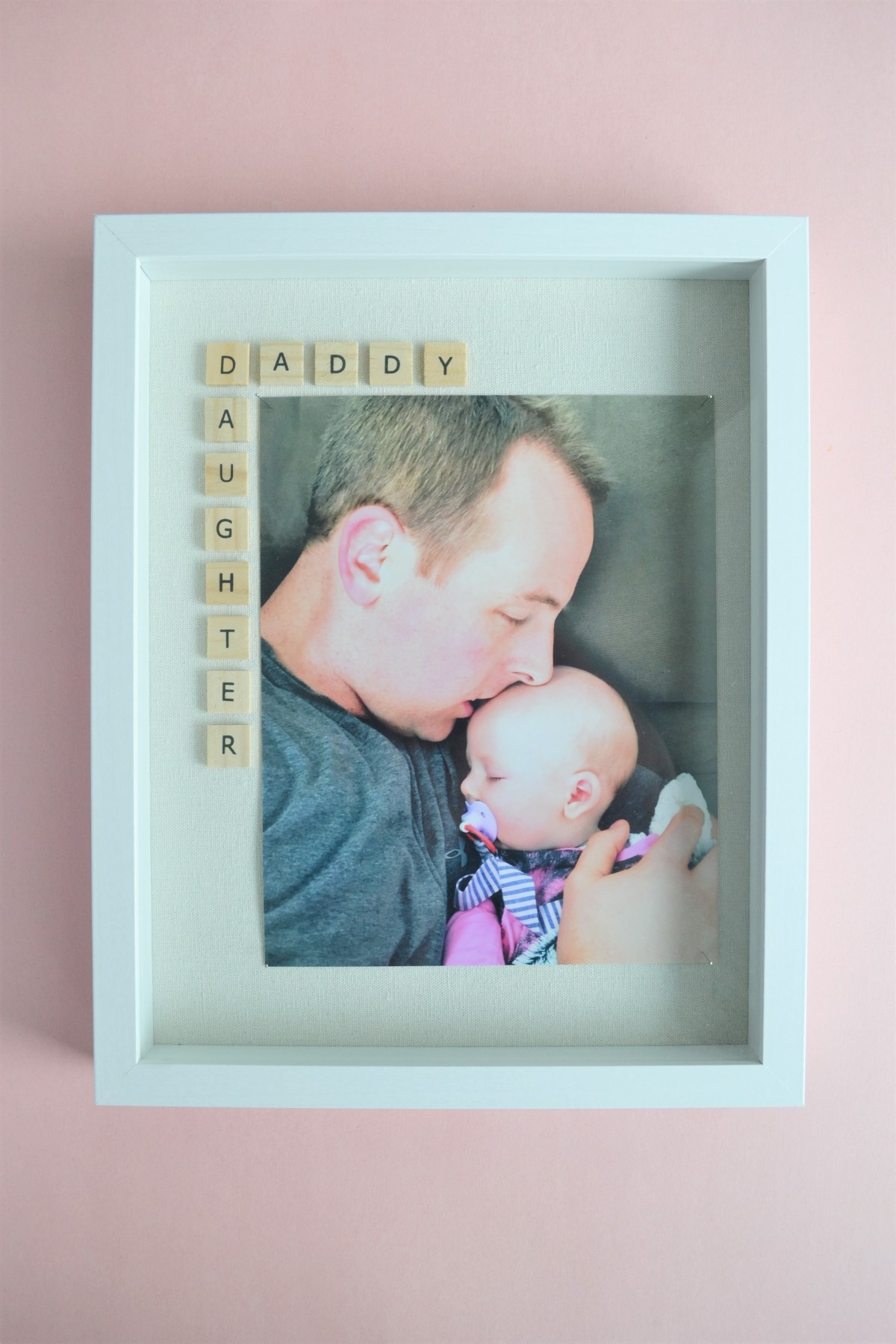 Father\'s Day Photo Frame Gift Idea: The Daddy Daughter Frame ...