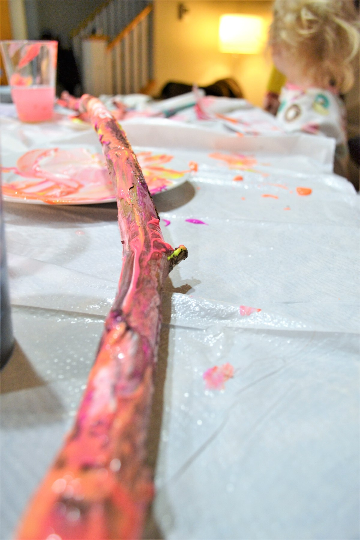 Crafts for kids - Painted Sticks!