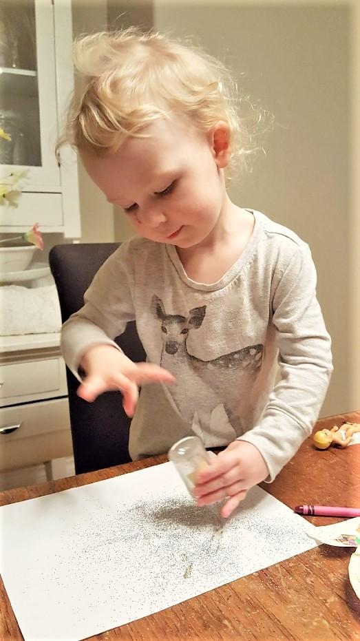 Write a Letter to Santa - add sprinkles