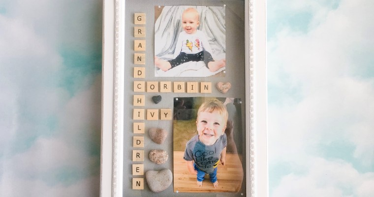 DIY Grandparent Gift Idea – The Shadow Box Frame!