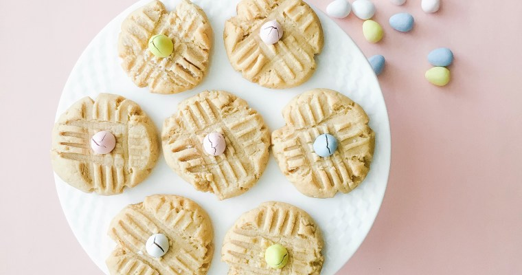 "The Best Last Minute ""Easter Eggie Peanut Butter Cookies!"""