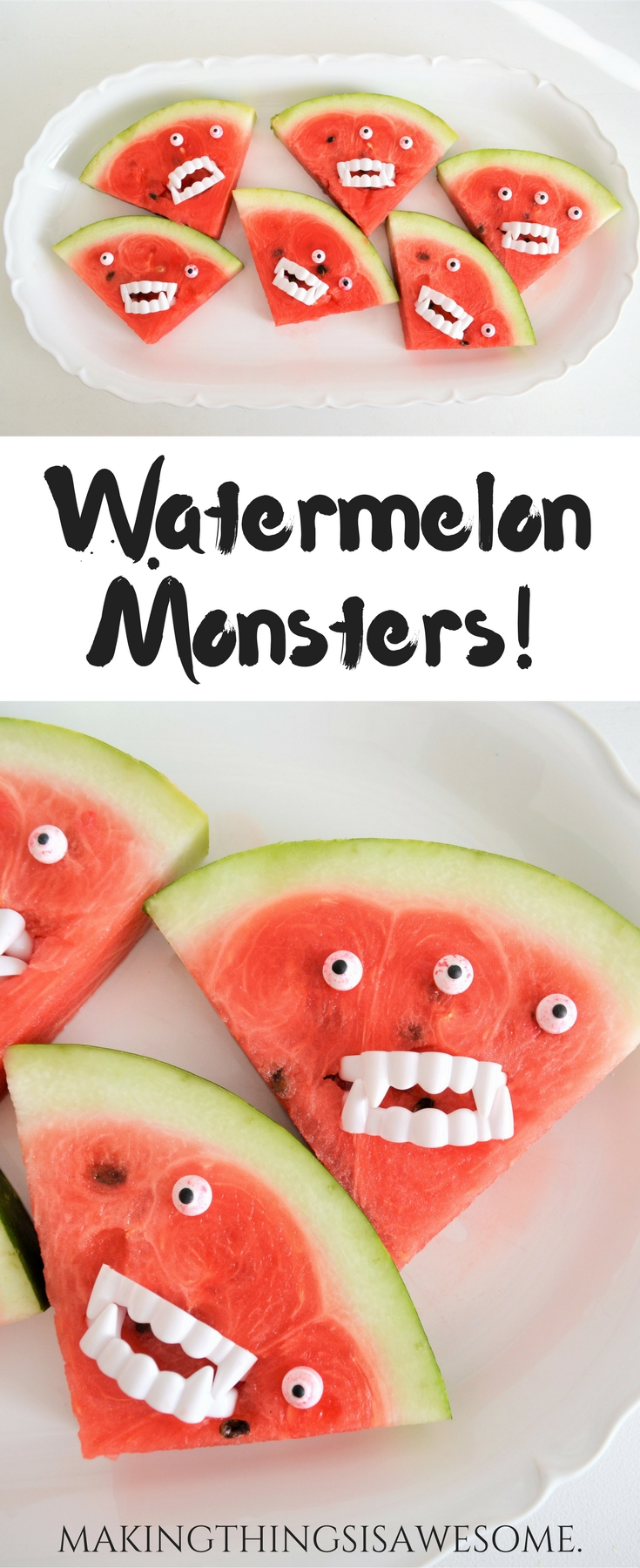 Watermelon Monsters! pin