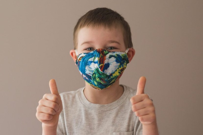 Free DIY Kids Face Mask Pattern - The Children's Rona Mask - by We Sew Got This