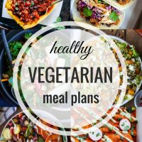 Healthy Vegetarian Meal Plan 01.22.2017