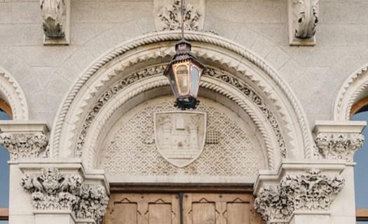 Tympanum of doorway