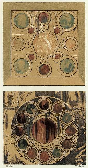 img013Wall-Veil-Decoration, Ca' Trevisan, above, and Ca' Dario, below.