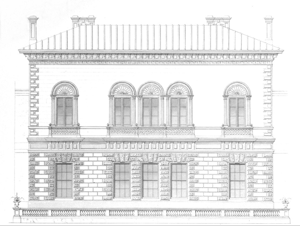 Elevation of Travellers Club
