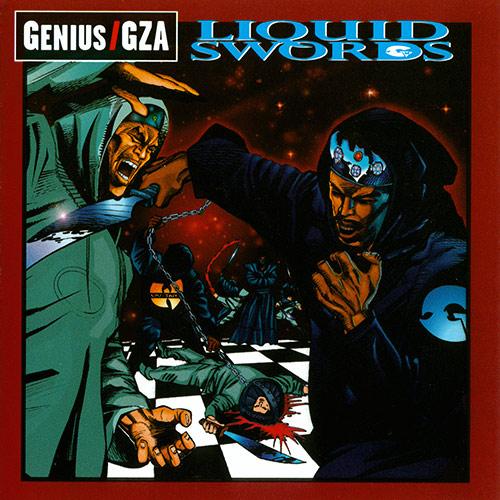 GZA - Liquid Swords Album Cover