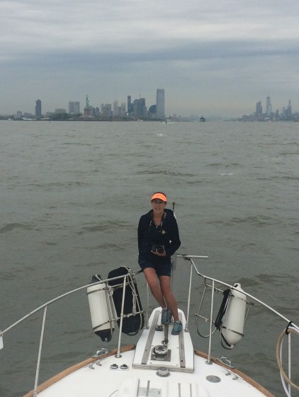 Entering New York Harbor