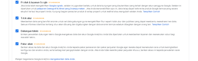 integrasi blog dengan google analytics