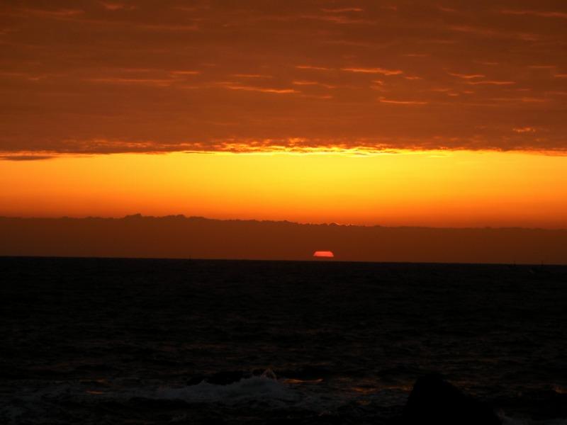室戸岬の日の出