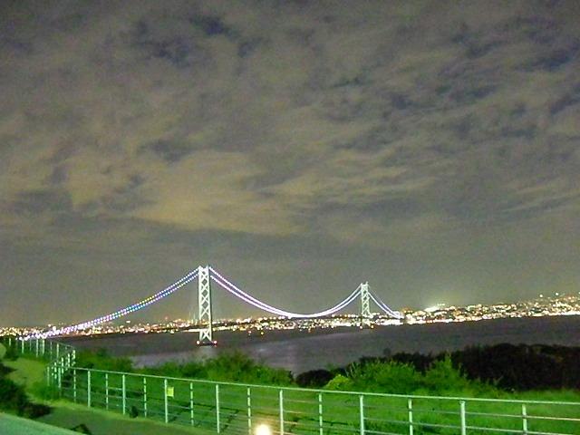 明石大橋夜景