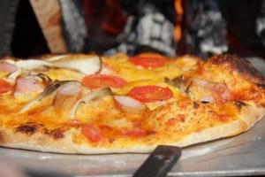 ピザも素早く美味しく焼けます