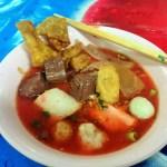 イエンターフォー(紅腐乳麺)