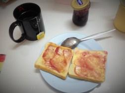 ハジャイバックパッカーズホステルの朝飯
