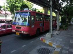 バンコクのバス 25番