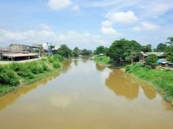 タイ・マレーシア国境の川